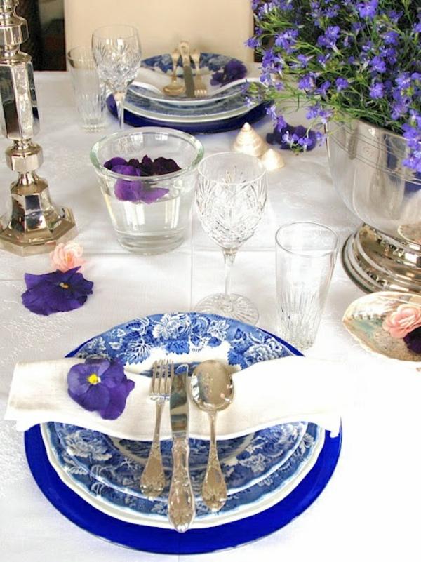 lila veilchen dekoration