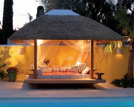 luxus gartenlaube von hoheymoon. Black Bedroom Furniture Sets. Home Design Ideas