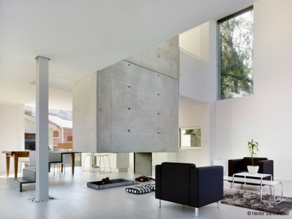 Luxus haus in spanien mit einzigartigem kamin for Haus einrichtungsideen