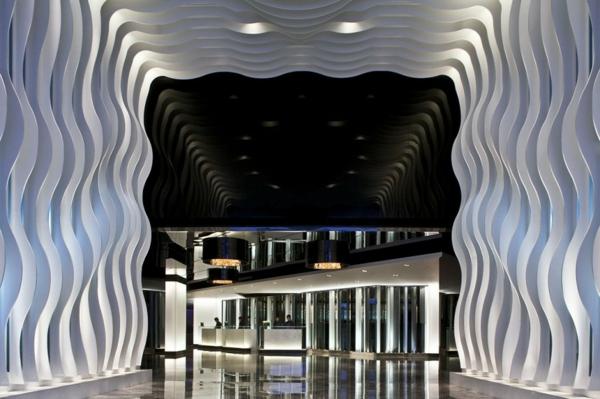 luxus hotel mira hong kong stadt viertel eingang design