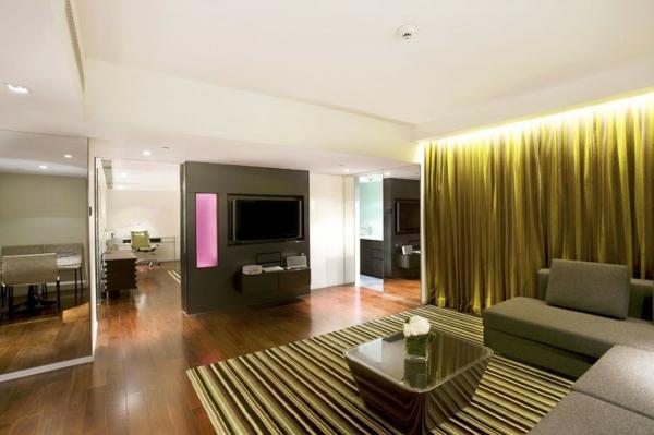 luxus hotel mira hong kong stadt viertel inneneinrichtung zimmer
