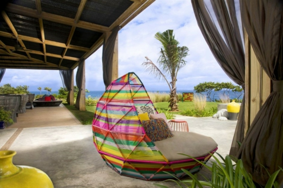 luxus hotel vieques spa interior design innenhof