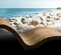 Luxus Liege aus Natursteinplatte von Stone Forest