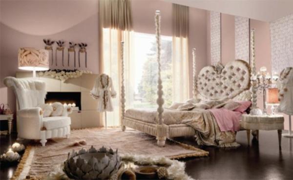 Luxus himmelbett  10 luxuriöse Teenager Zimmer – attraktive Ideen für junge Damen