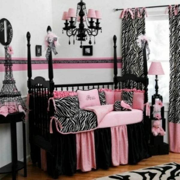 Zebra bedroom decorations zebra print bathroom and cheetah bedroom - Das Zimmer In Paris Style Einrichten Ideen F 252 R Teenager