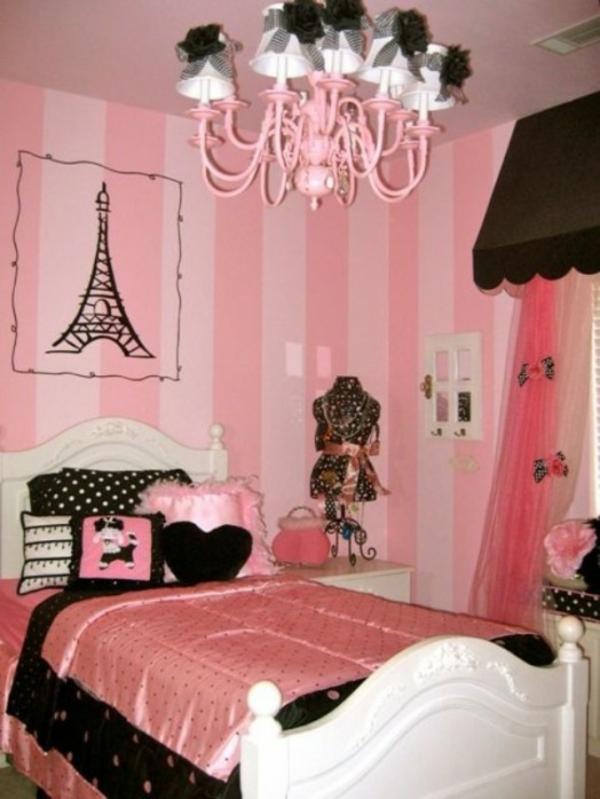 Das Zimmer In Paris Style Einrichten U2013 Ideen Für Teenager Mädchen |  Kinderzimmer ...