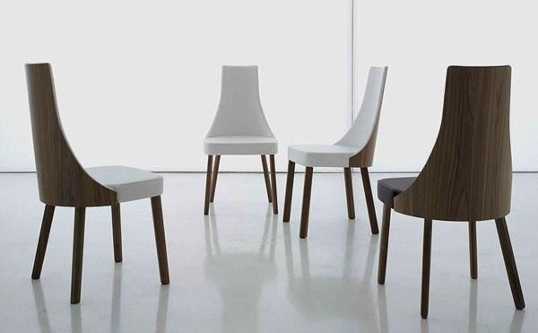 möbel luxus innovativ essbereich stühle holz weiß