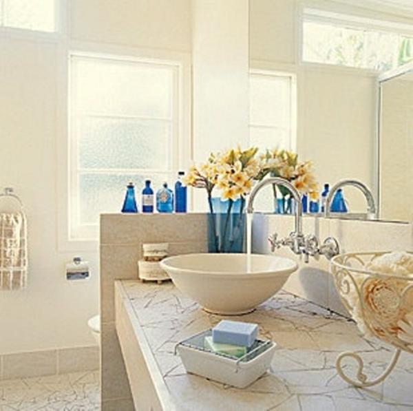 Farbe im badezimmer: wandfarbe türkis 42 tolle bilder. badezimmer ...