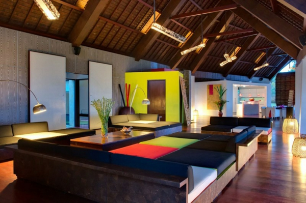 minimalistisch ausstattung villa sapi