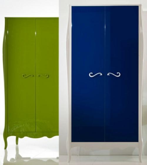 moda sinfonie14 kollektion kleiderschrank grün blau neo barock