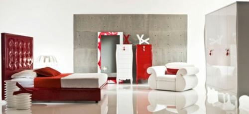moda sinfonie14 kollektion schlafzimmer rot neo barock