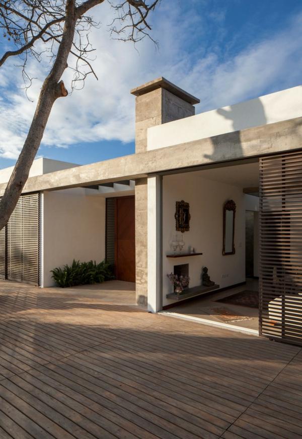 Moderne architektur hand in hand mit der natur for Moderne architektur