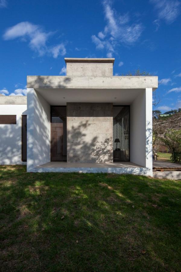 Moderne architektur hand in hand mit der natur - Moderne haus architektur ...