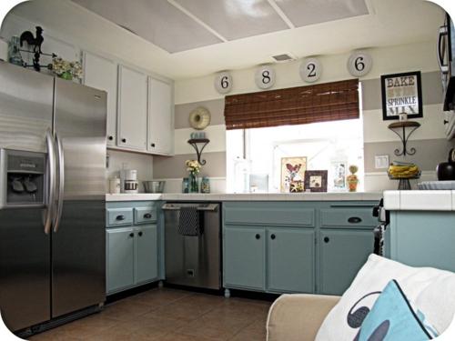 Ideen bilder ideen küche : 15 interessante und praktische Ideen für altmodische Küchen
