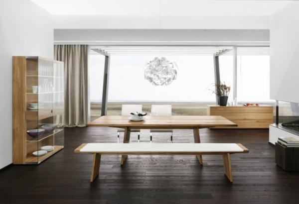 moderne ausstattung im esszimmer. Black Bedroom Furniture Sets. Home Design Ideas