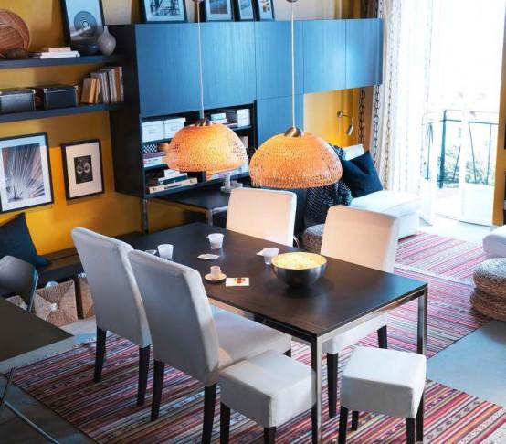 ikea wohnzimmer ideen:IKEA Dining Room Decorating Ideas