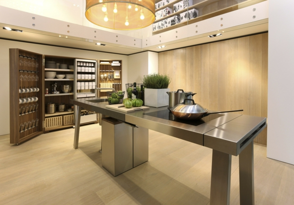 moderne k chenwerkstatt bulthaup b2. Black Bedroom Furniture Sets. Home Design Ideas