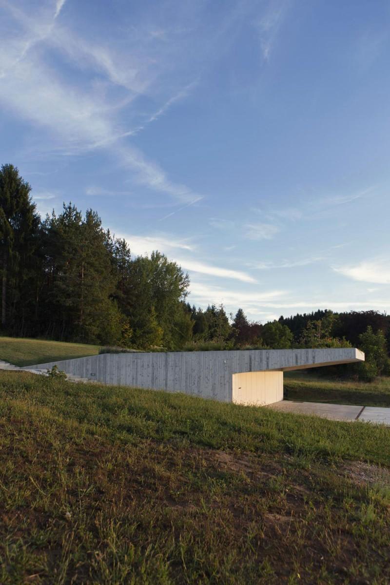 Moderne zeitgenössische Architektur - Haus MJ in Slowenien