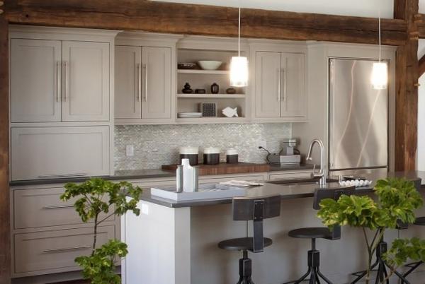 modernes küchen design interessant hängelampen - Beleuchtung