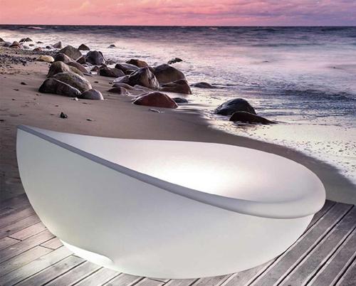 modernes ruhebett solpuri design leuchten