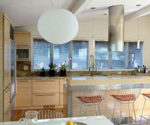 einzigartige design ideen für küchen mit vielen fenstern - Fenster In Der Küche