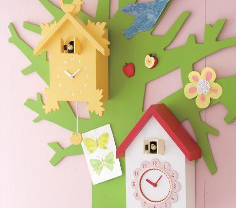 10 niedliche kuckucksuhren zur dekoration in kinderzimmern - Deko Baum Wand