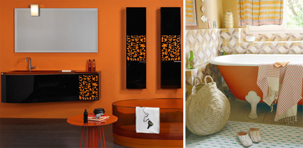 Orange Interior Design – frische, grelle Ideen