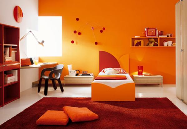 Orange Interior Design - frische, grelle Ideen