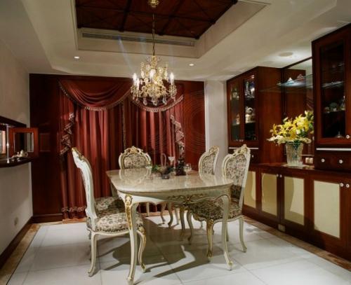 Orientalische Esszimmer Interieurs