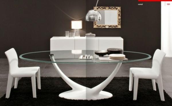 designer glastische esszimmer – raiseyourglass