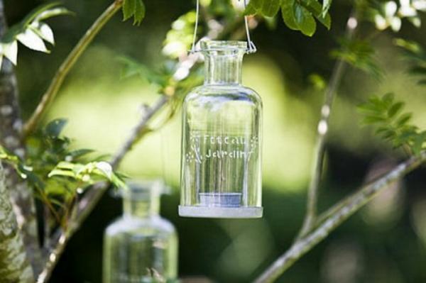 Romantische gartenbeleuchtung mit kerzen 25 originelle ideen for Gartendeko kerzen