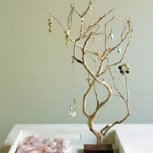 originelle Ideen Ast Zweigdekorationen Inneren Baum
