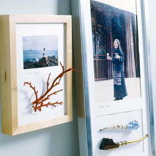 originelle Ideen Ast- Zweigdekorationen Inneren Bilder