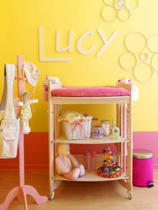 16 originelle ideen f r auffallende kinderzimmer wanddekorationen. Black Bedroom Furniture Sets. Home Design Ideas