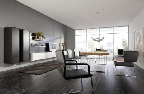 Minimalistisch eingerichtetes Esszimmer – Designer Möbel von Gruber ...