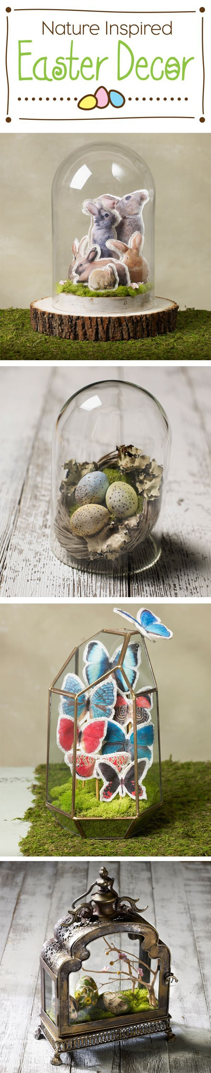 Sophisticated crafts for Easter and cool Easter decorations 2017