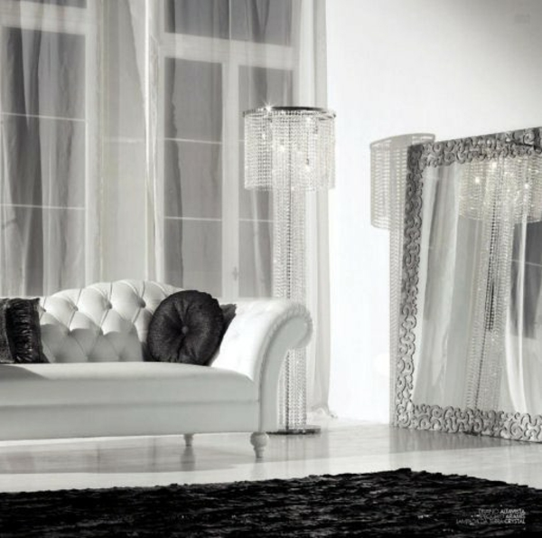 prachtvoll deko stehlampe spiegel