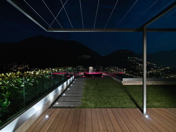 prachvoll veranda atemberaubend aussicht