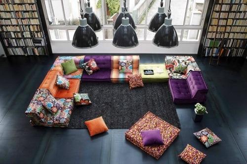 praktisches sofa boho sectional roche bobois