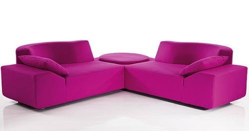 praktisches sofa lady bug pink bruehl