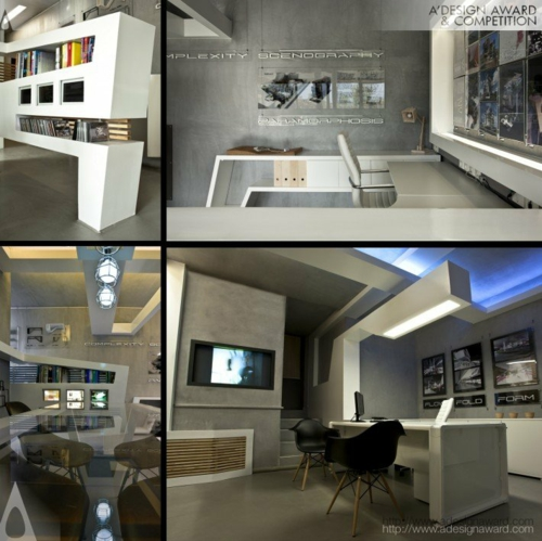 projekt design weiß arbeitsstelle büro studio nl