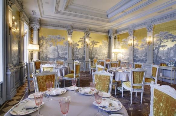 renaissance stil interieur designs im restaurant gold