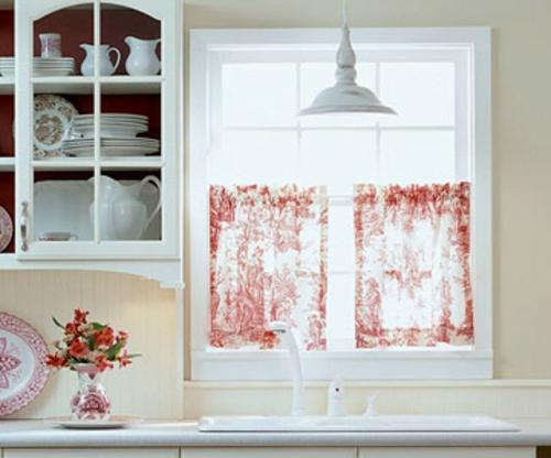 erneuerung der k che mit farbenfrohen stoffen. Black Bedroom Furniture Sets. Home Design Ideas