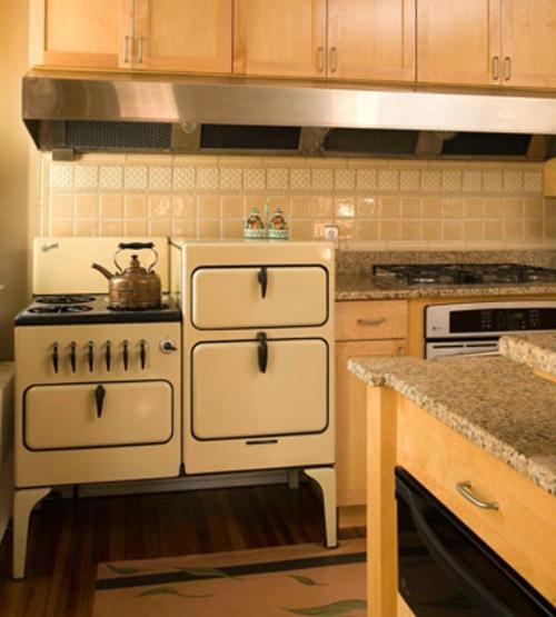 originelle und extravagante ideen f r retro k chen. Black Bedroom Furniture Sets. Home Design Ideas
