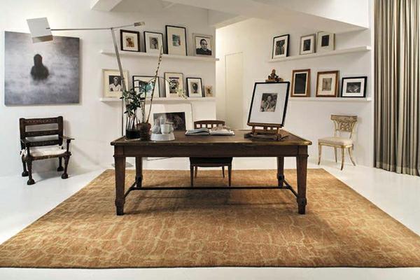 erdige dekorative ideen teppiche interieur design büro