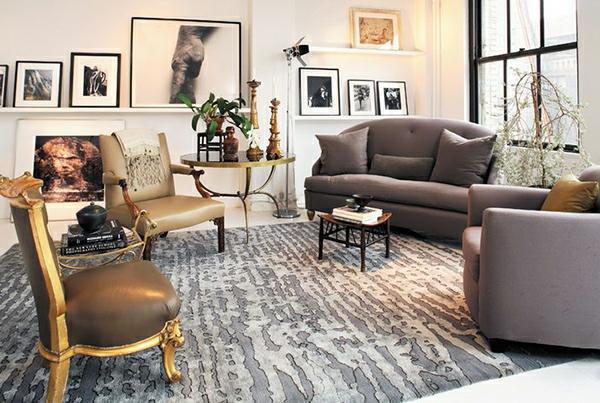 robuste deko ideen teppiche interieur extravagant