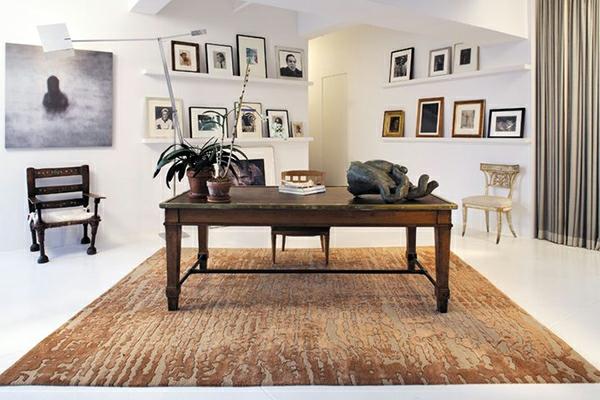 erdige dekorative ideen teppiche interieur standbild