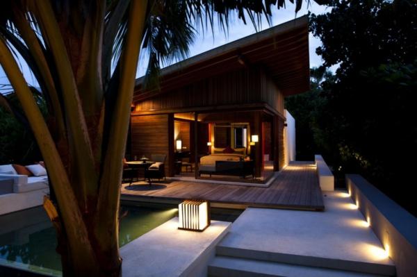 romantisch ferienhaus malediven