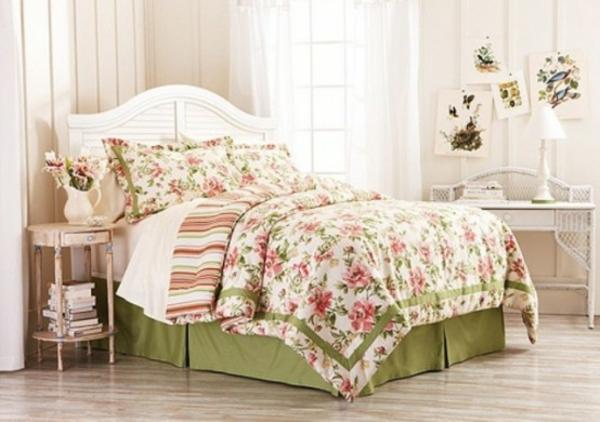 frühlingsdeko im schlafzimmer - 44 wundervolle ideen - Schlafzimmer Deko Rosa