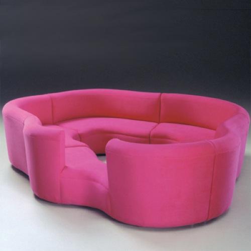 Designer couch rund  Ein praktisches Sofa, das alle Ihren Freunde versammelt
